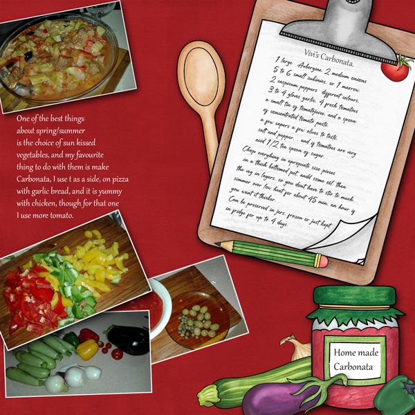 Summer cooking 1. carbonata recipe