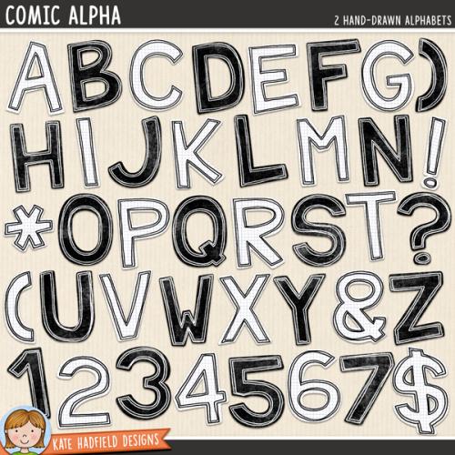 Comic Alpha