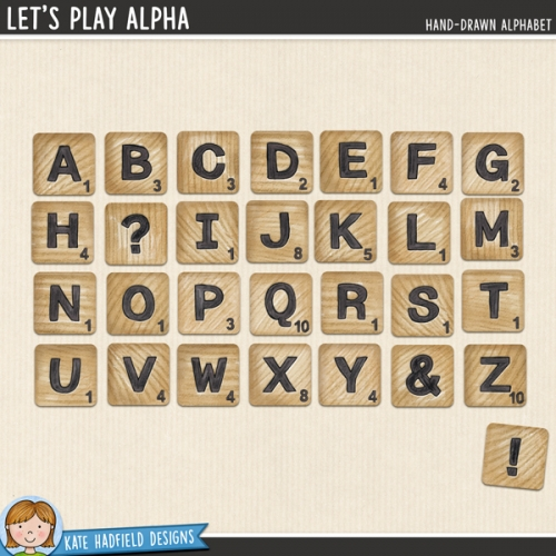 Let's Play Alphabet