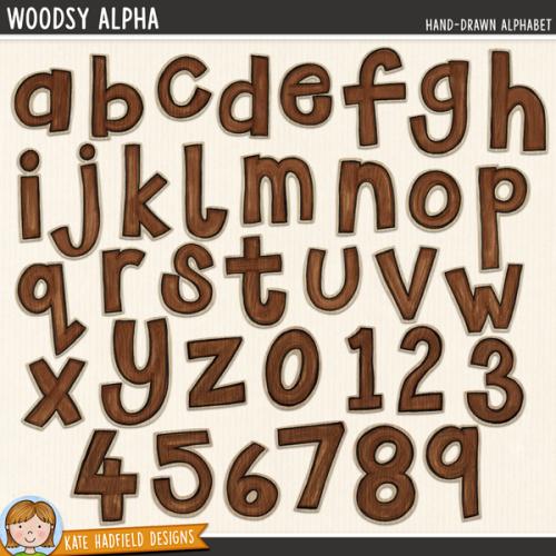 Woodsy Alphabet