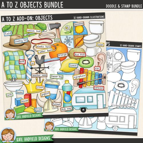A to Z Add-on: Objects Bundle