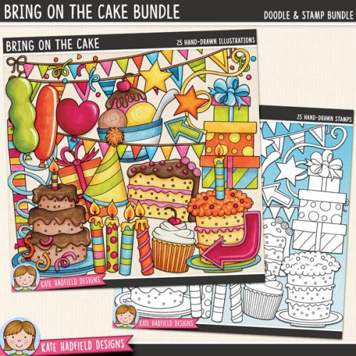 Bring on the Cake Bundle