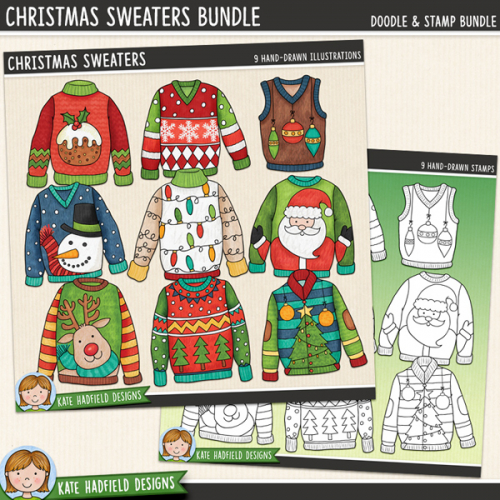Christmas Sweaters Bundle