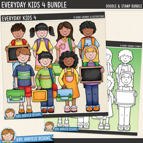 Everyday Kids 4 Bundle