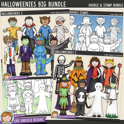 Halloweenies Big Bundle