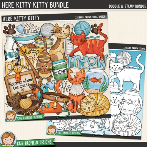 Here Kitty Kitty Bundle