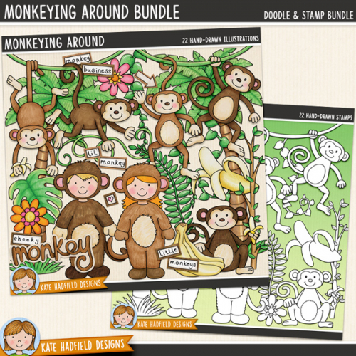 Monkeying Around Bundle