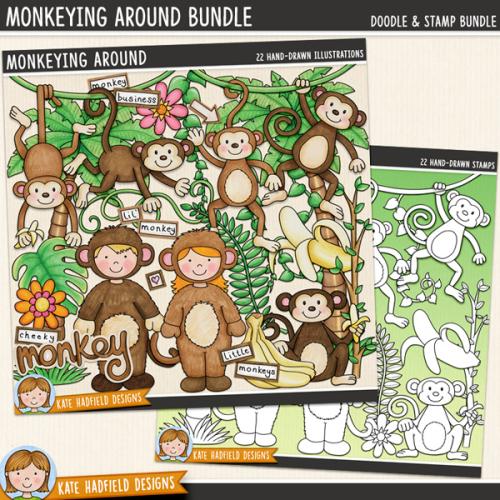 Monkeying Around Bundle