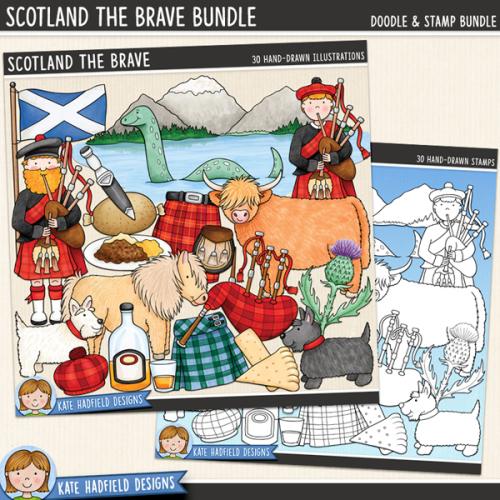 Scotland the Brave Bundle