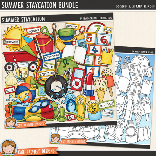 Summer Staycation Bundle