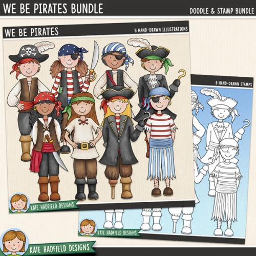 We Be Pirates Bundle