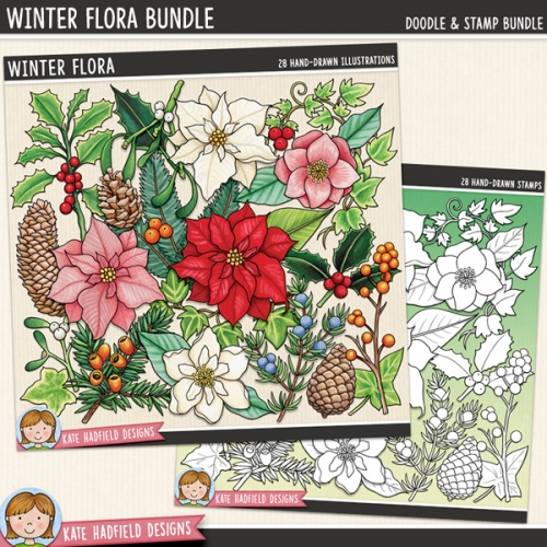 Winter Flora Bundle