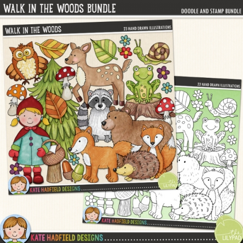 Walk in the Woods Bundle