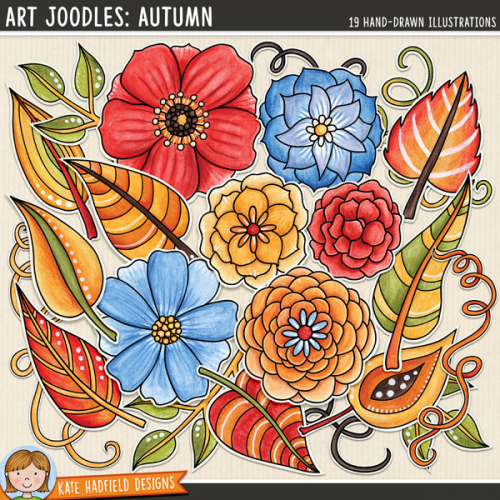 Art Joodles: Autumn