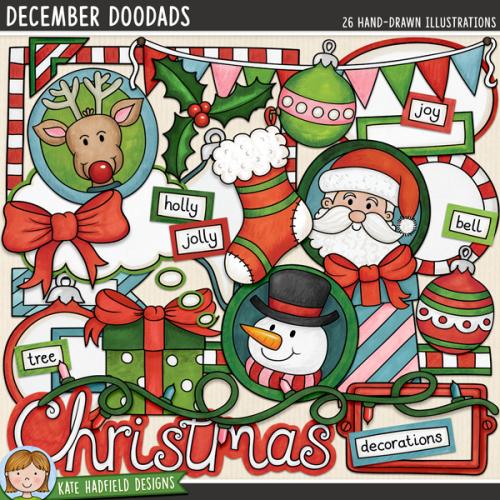December Doodads