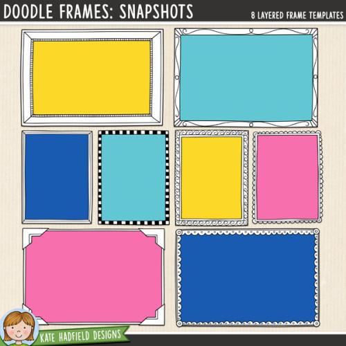 Doodle Frames: Snapshots