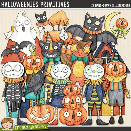 Halloweenies Primitives