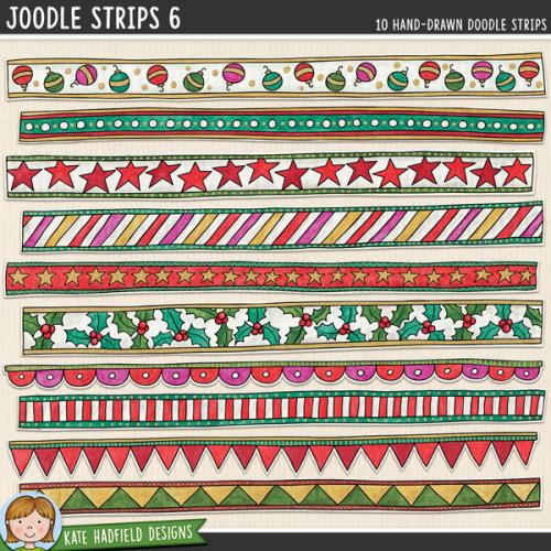 Joodle Strips 6