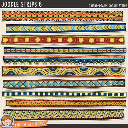 Joodle Strips 8