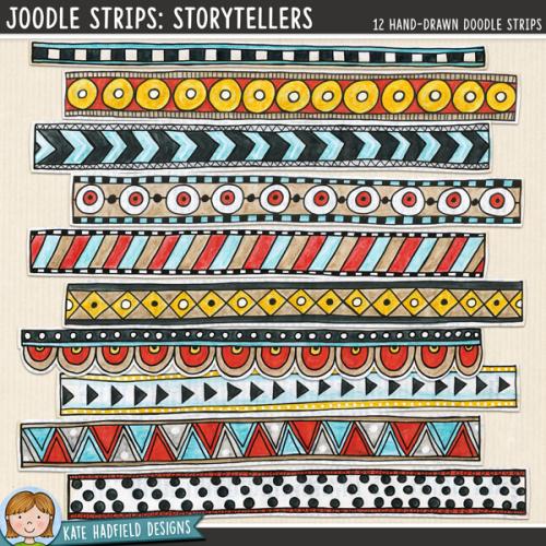 Joodle Strips: Storytellers
