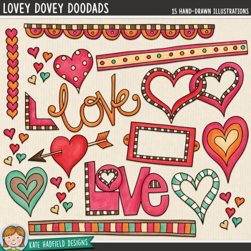 Lovey Dovey DooDads