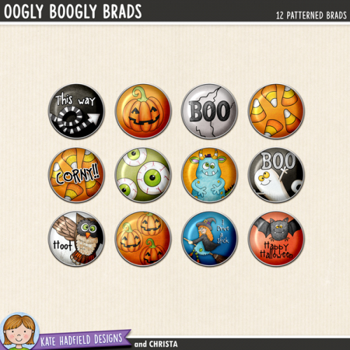 Oogly Boogly Brads
