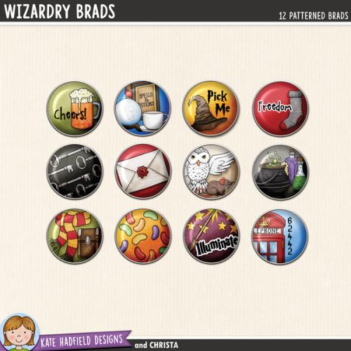 Wizardry Brads