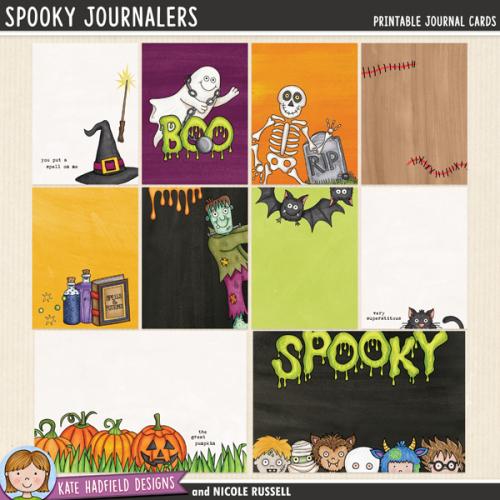 Spooky Journalers