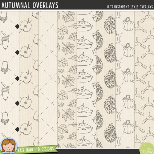Autumnal Overlays