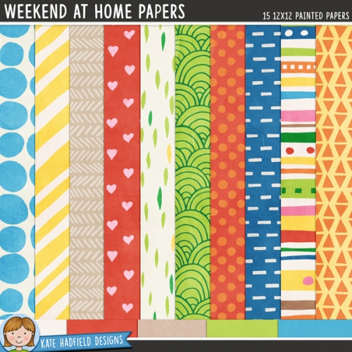 Weekend At Home Papers