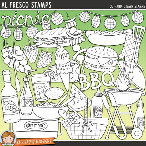 Al Fresco Stamps