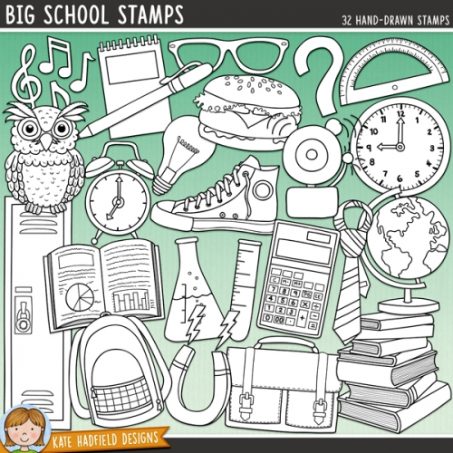 Big School Stamps
