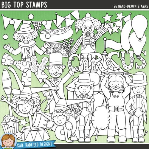 Big Top Stamps