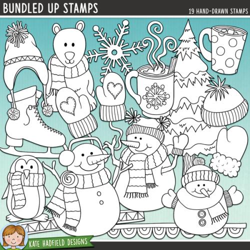 Bundled Up Stamps