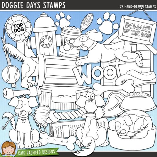 Doggie Days Stamps