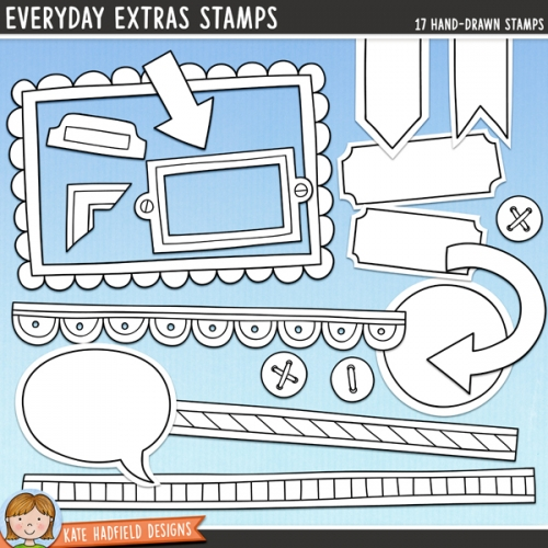 Everyday Extras Stamps
