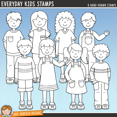 Everyday Kids Stamps
