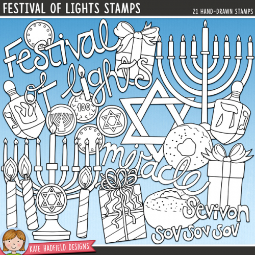 Festival of Lights Stamps