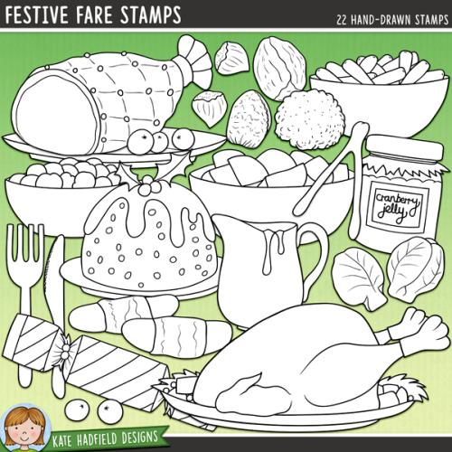 Festive Fare Stamps