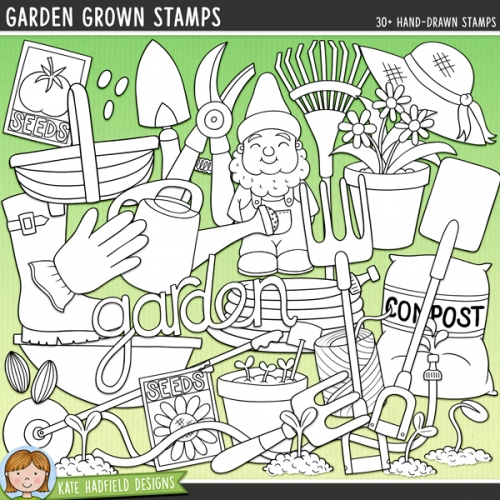 Garden Grown Stamps