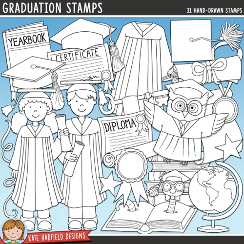 Graduation Stamps