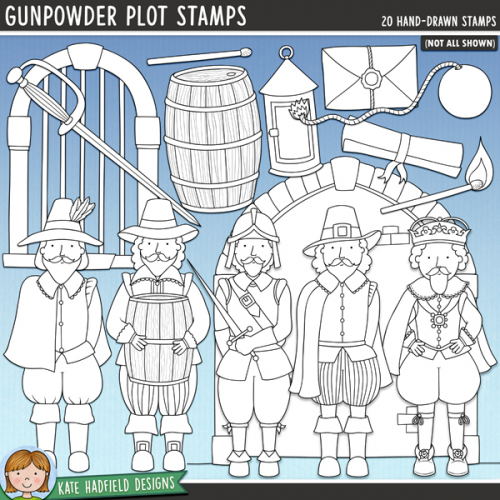 Gunpowder Plot Stamps