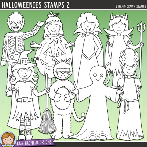 Halloweenies Stamps 2
