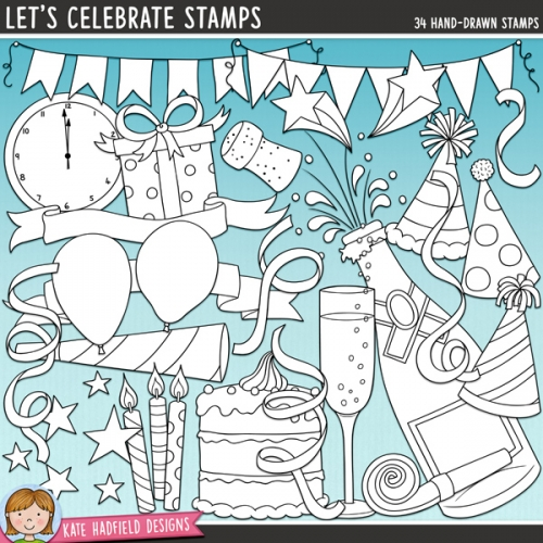 Let's Celebrate Stamps