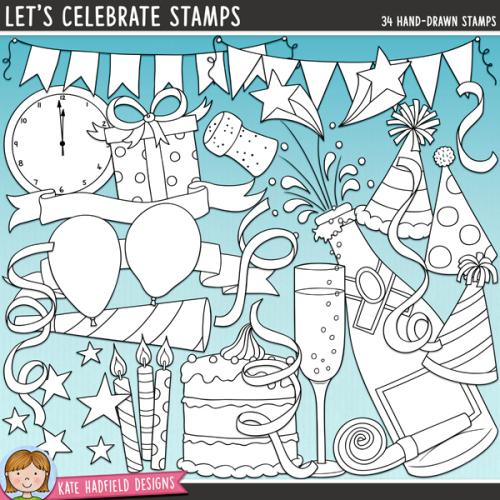 Let's Celebrate Stamps
