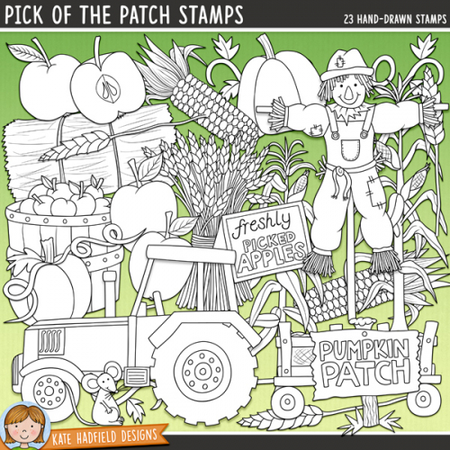 Pick of the Patch Stamps
