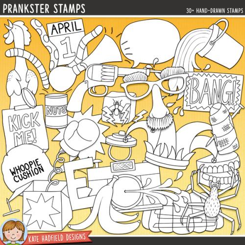 Prankster Stamps