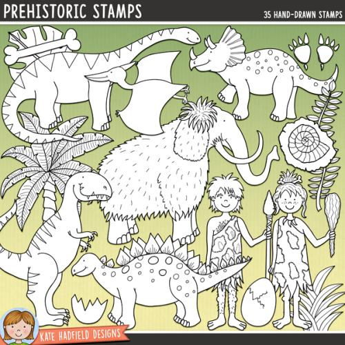 Prehistoric Stamps