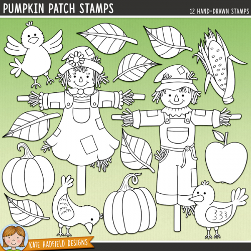 Pumpkin Patch Stamps