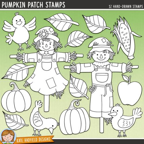 Pumpkin Patch Stamps